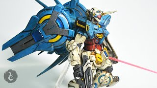 1 144 hg gundam g self custom weathering review 001