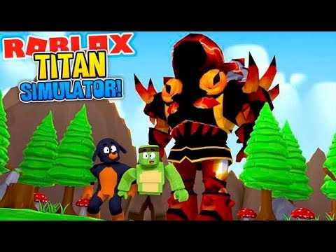 ROBLOX - THE TITAN SIMULATOR!