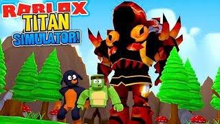 ROBLOX - THE TITAN SIMULATOR!