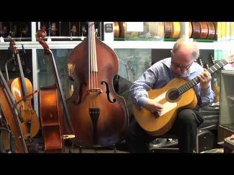 1960 Luis Arostegui Granados Flamenco Guitar Solea