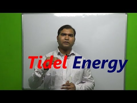 tidel energy power plant in hindi