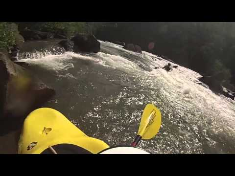 Kayaking the Ocoee River 2014