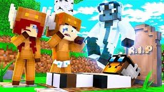 Minecraft Daycare - R.I.P TEACHER! W/ MOOSECRAFT (Minecraft Kids Roleplay)