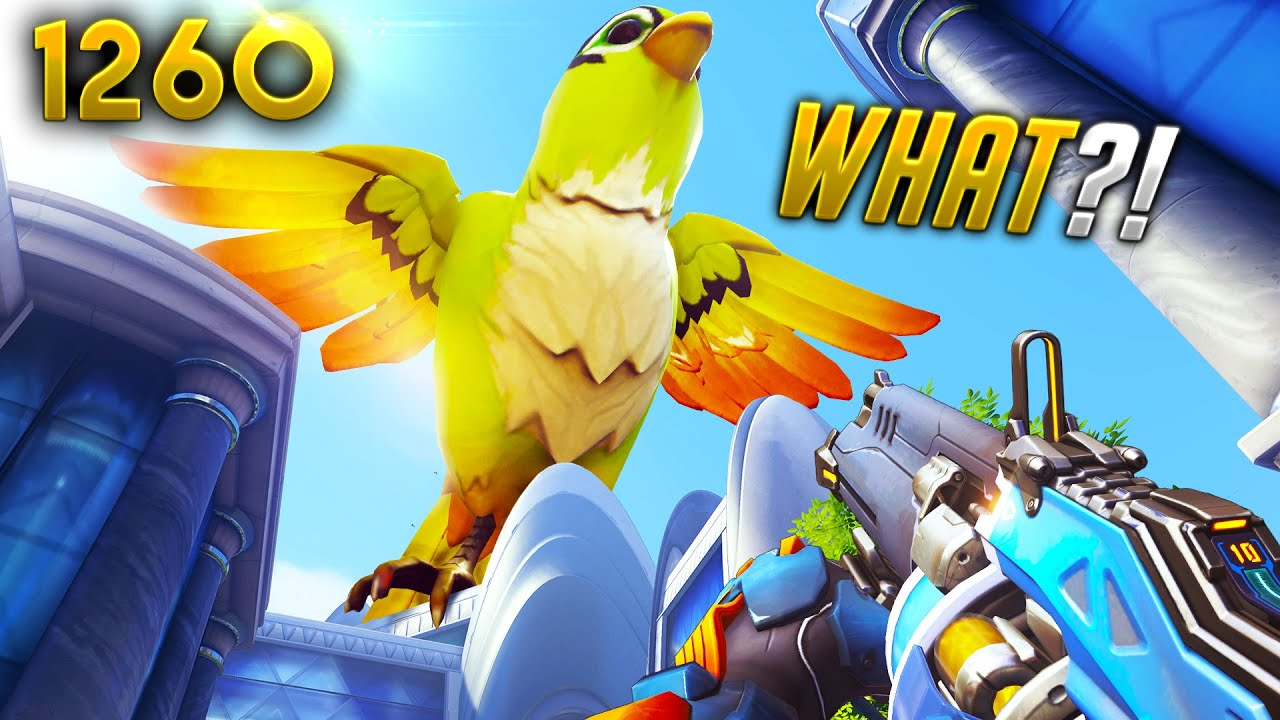 The *BIGGEST* Bastion BIRD EVER... | Overwatch Daily Moments Ep.1260 (Funny and Random Moments)