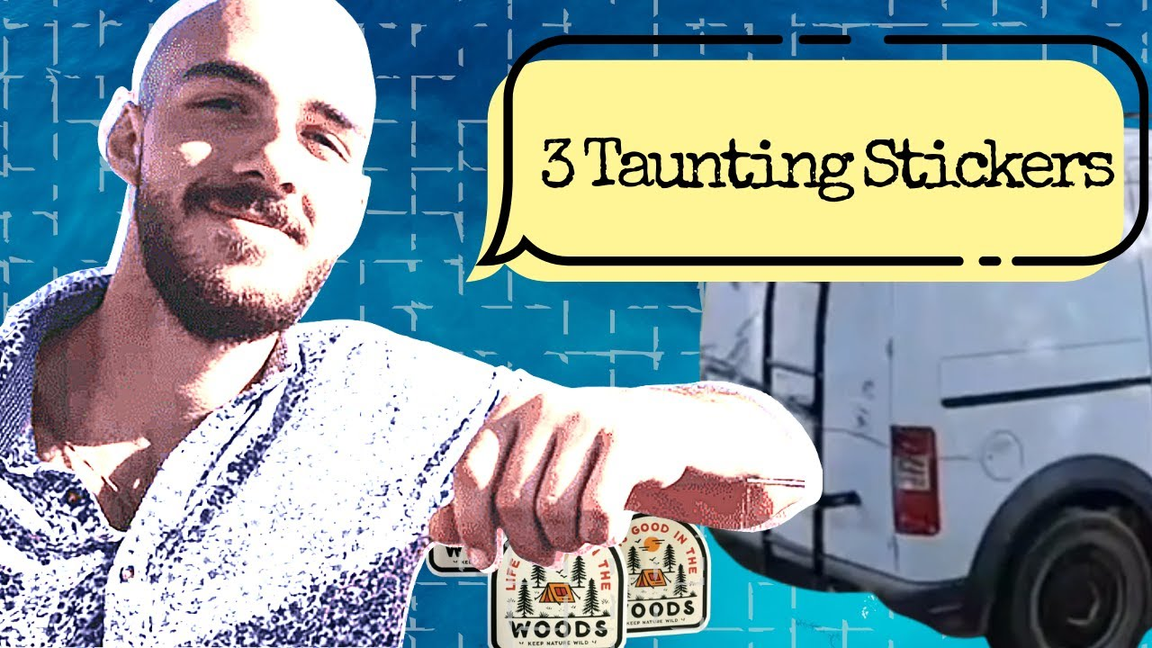 Brian Laundrie's 3 NEW Taunting Van Stickers  Gabby Petito Case