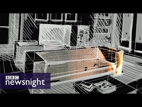 How fire-safe is British furniture? - BBC Newsnight