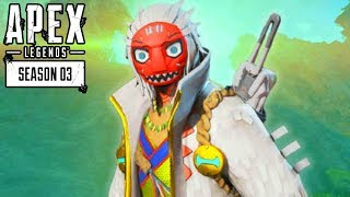 APEX LEGENDS SEASON 3 - NEW MAP & CRYPTO LAUNCH GAMEPLAY! (Apex Season 3 Battle Pass)