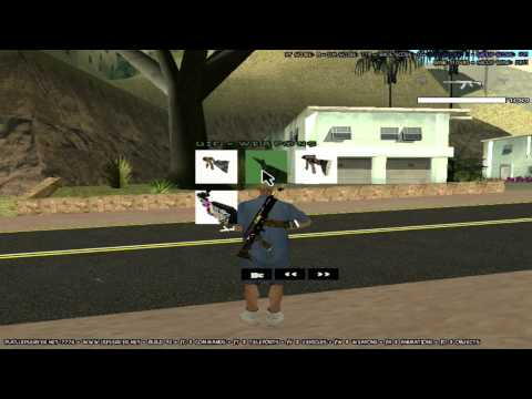 Graffiti Weapons Pack + HUD [DL]