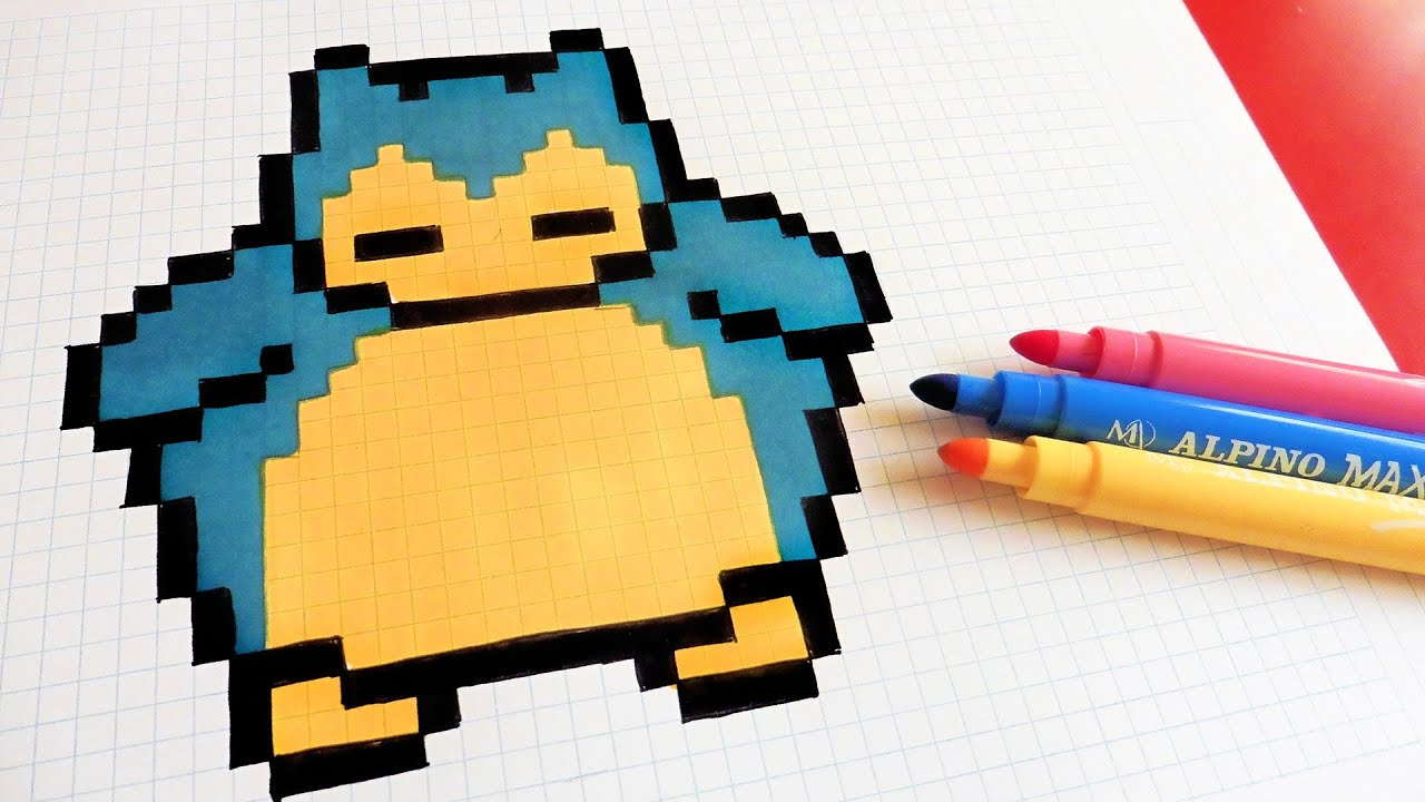 pixel art ronflex