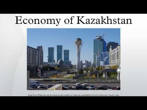 Economy of Kazakhstan