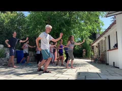 Energy Arts Greece - 09 -15. 07. 2020 Evia seminar  Wu Taiji forms - Chigung