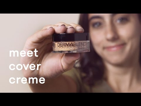 How To Apply Cover Creme Foundation | Full Coverage Foundation Demo | Dermablend Professional