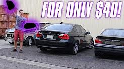 MY AMAZING JUNKYARD FIND! (BMW)