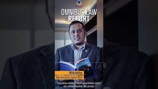 Omnibuslaw Report by Willy Aditya