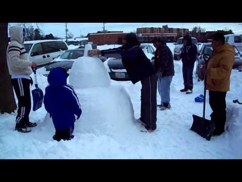 snowman in mount prospect il feb 02-2011