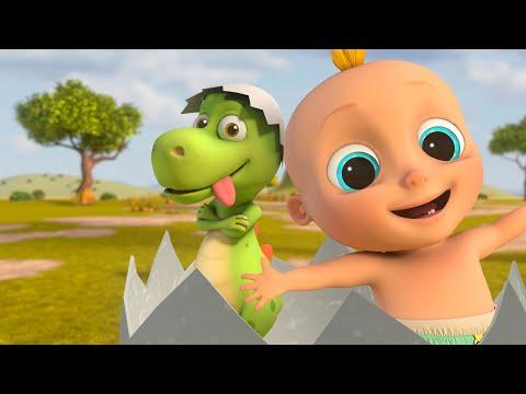 Cantec nou: Zigaloo Dance – Johny & Dino Fun  | LooLoo Kids Educational Songs