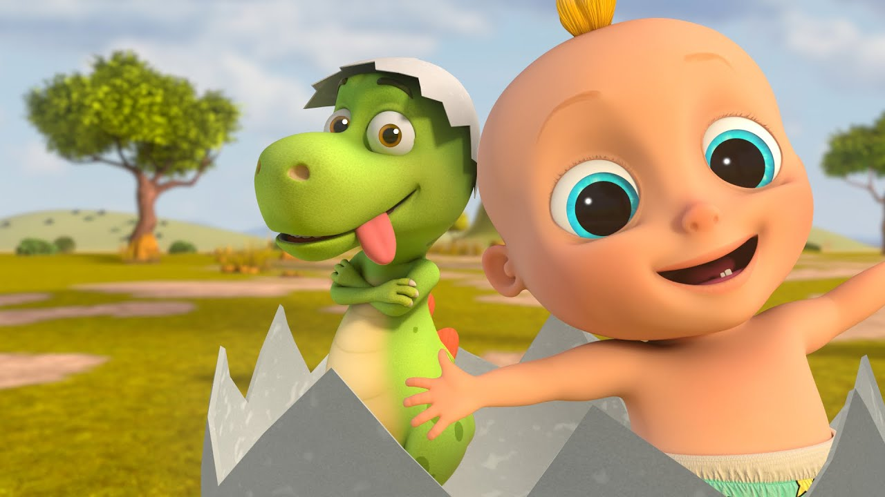 Download Zigaloo Dance - Johny & Dino Fun  | LooLoo Kids Educational Songs