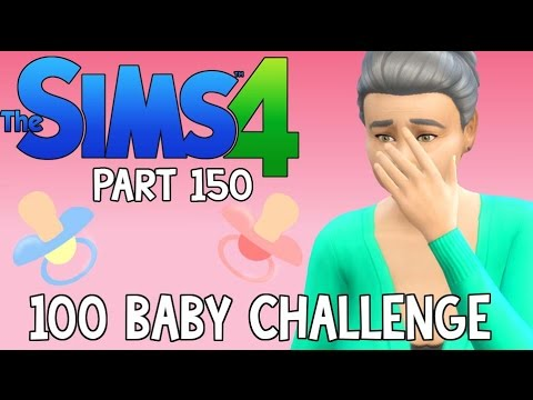The Sims 4: 100 Baby Challenge - A BIRTH, ABDUCTION, WEDDING & DEATH (Part 150)