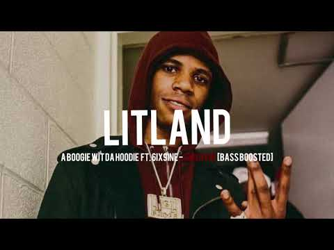 A BOOGIE WIT DA HOODIE FT. 6IX9INE – SWERVIN [BASS BOOSTED]