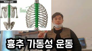 7. 흉추가동성운동 - 물리치료사 가 알려주는 체형교정…