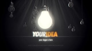 Bulb Logo Intro 4k  Videohive After Effects Templates