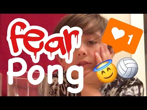 Fear Pong 😱 // James Farmer