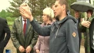Вести-Хабаровск. Встреча губернатора с обладателями гектара