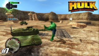 The Incredible Hulk: Ultimate Destruction - PS2 Gameplay Playthrough 1080p (PCSX2) PART 7