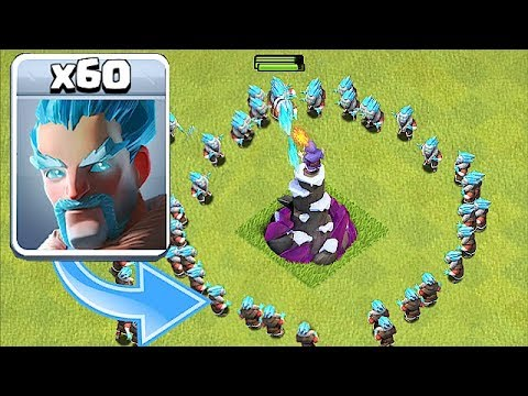 """ICE WIZARD RETURNS!!! """" Clash Of Clans """" SPECIAL TROOP!!"""