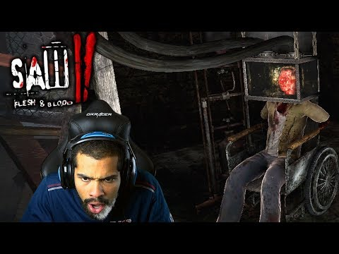 THAT LOOKS LIKE IT HURT!! | Saw II: Flesh and Blood | #8