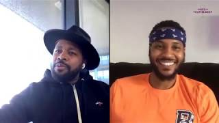 D-Nice on Music, Quarantine & Wine | What's In Your Glass | Carmelo Anthony