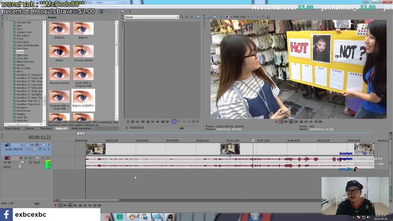 Korean effect photo editor