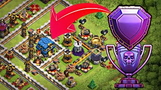 Th11 Trophy / Troll Base 2018 w/PROOF | Th11 New Defensive Legend ...