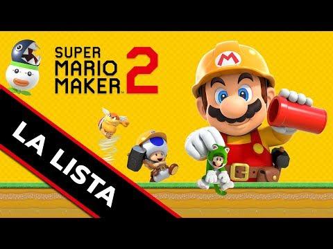 ANÁLISIS/REVIEW | Super Mario Maker 2 para Nintendo Switch - LA LISTA