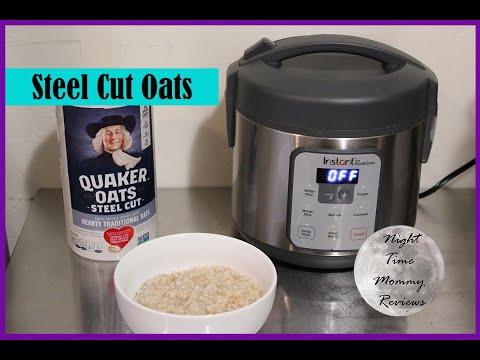 STEEL CUT OATS OATMEAL | Instant Zest Rice and Grain Cooker Recipe