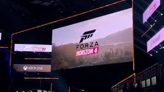 Forza Horizon 4 E3 Crowd Reaction! - E3 2018