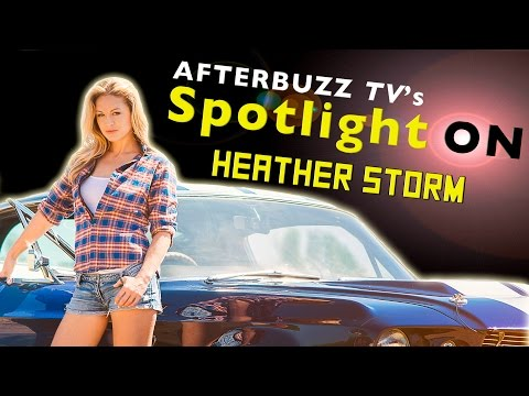 Heather Storm Interview - Spotlight On - AfterBuzz TV