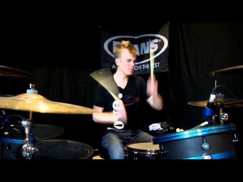 Demon Hunter - One Thousand Apologies - Drum Cover - Brooks