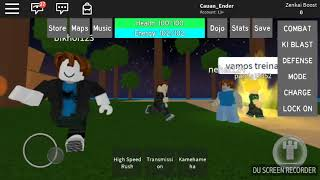 ROBLOX: FIU PLAY DRAGON BALL RAGE AND LOOK AT WHAT GAVE