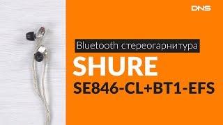 распаковка стереогарнитуры SHURE SE846-CL-BT1 EFS / Unboxing SHURE SE846-CL-BT1 EFS