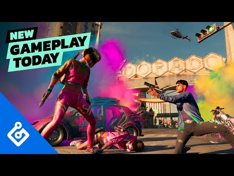 Saints Row story mission gameplay revealed