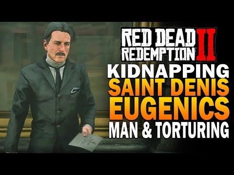 Kidnapping The Saint Denis Eugenics Man - Red Dead Redemption 2 [RDR2] thumbnail