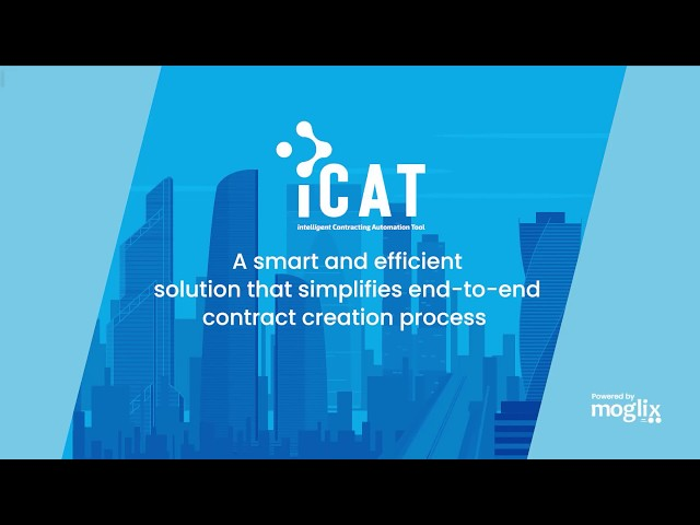 iCAT by Moglix SaaS: Simplify and Automate your Contract Creation