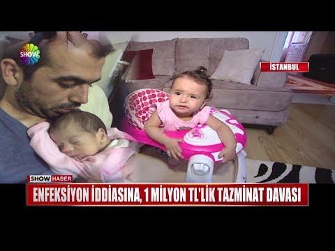 Enfeksiyon iddiasına,1 milyon TL'lik tazminat davası