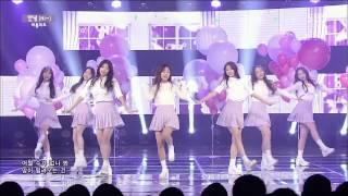 Lovelyz - Hi (Hi ~) @ Popular song Inkigayo 150322