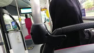 SG5947Z on 180 SMRT MAN A95 ND323F Euro 6 MAN Lion's City Double Decker Bus