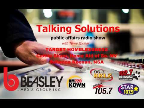 Talking Solutions and TARGET HOMELESSNESS
