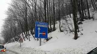 Tunnel Tenda. Граница Франции и Италии