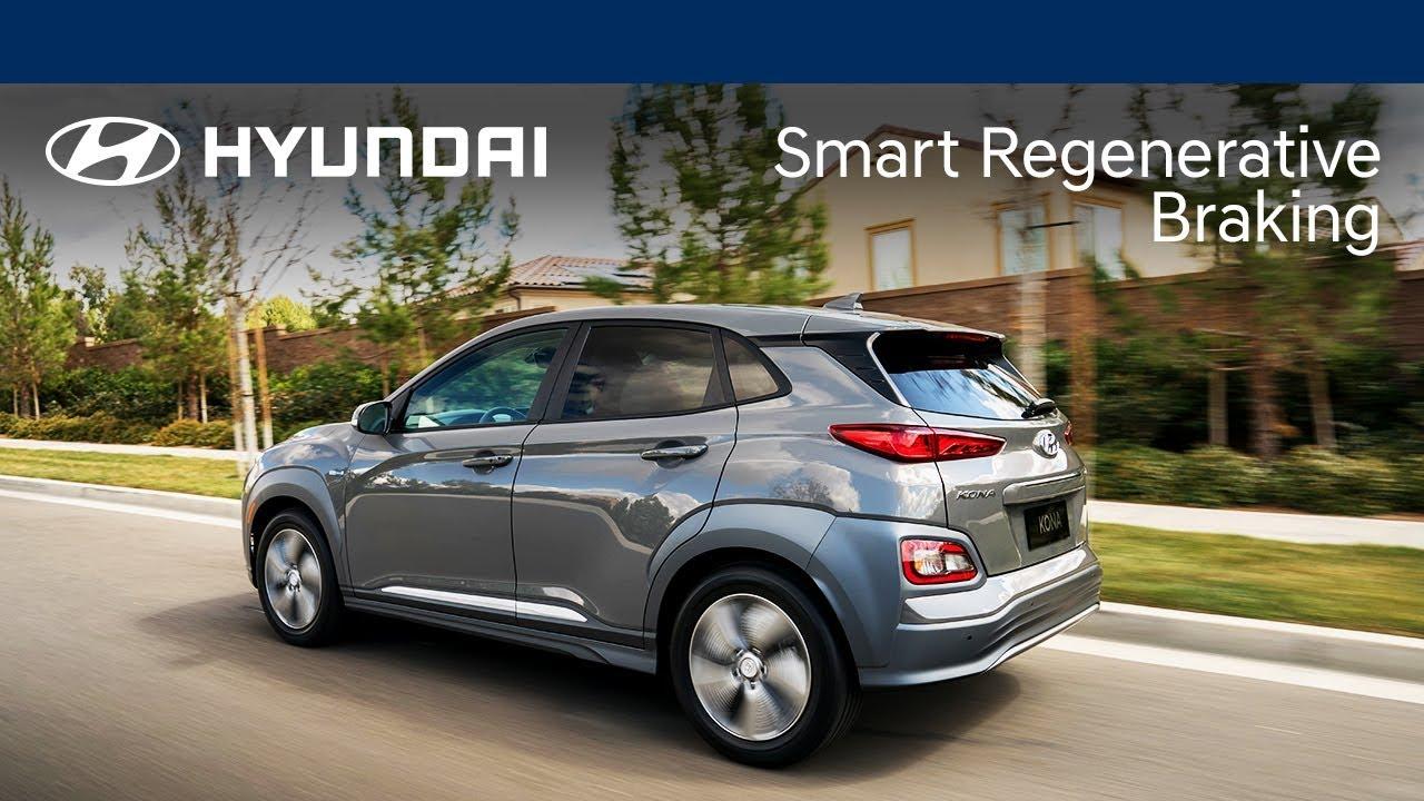 Smart Regenerative Braking Explained   Kona Electric   Hyundai