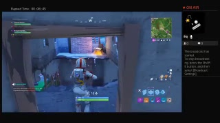 Fortnite Battle Royale trying to get a duo win with Brogaming